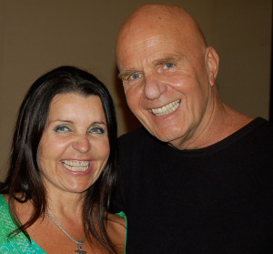 Colette Baron-Reid și Wayne W. Dyer