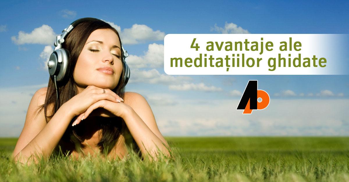 4 avantaje ale meditațiilor ghidate