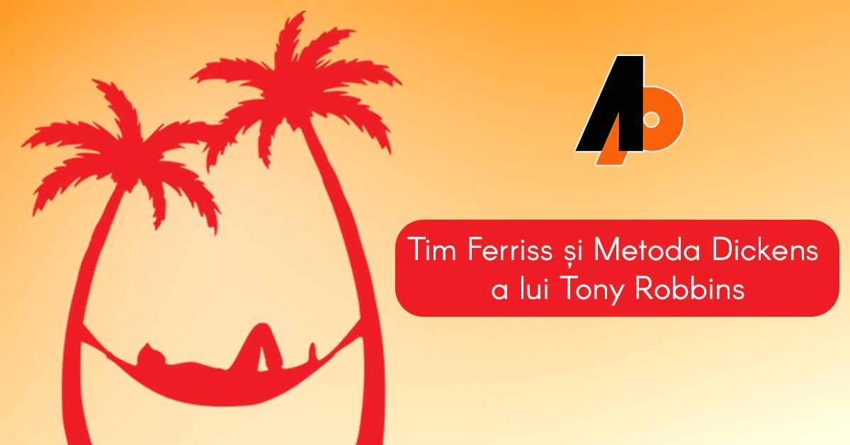 """Tim Ferriss, autorul cărții """"4 ore săptămâna de lucru"""", declară că o metodă în 3 pași pe care a învățat-o de la Tony Robbins i-a îmbunătățit viața radical"""