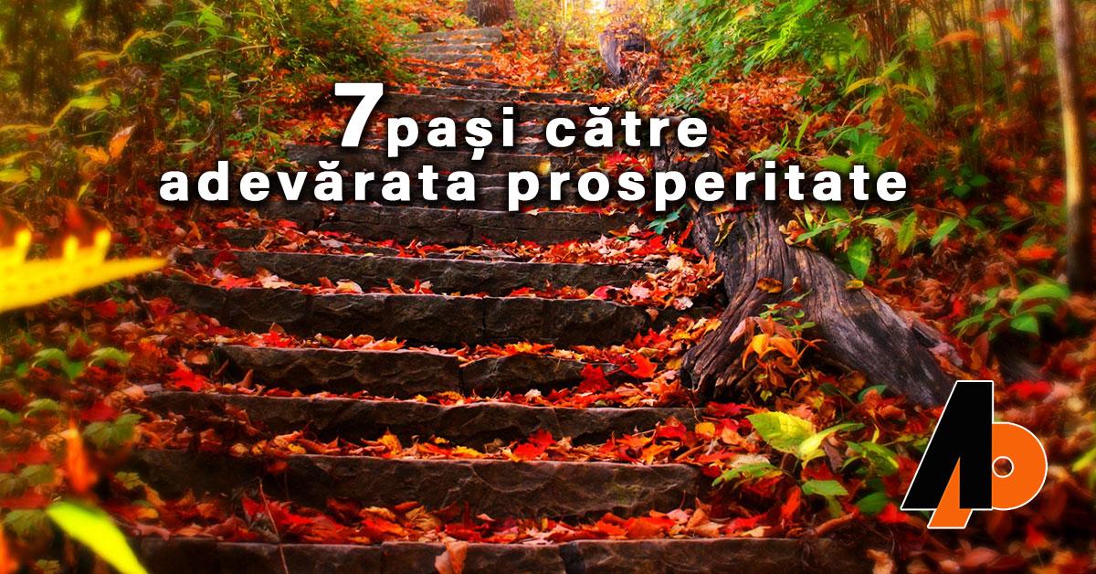 7 pași către adevărata prosperitate