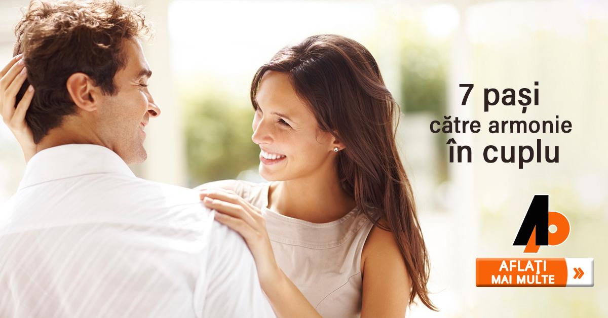 7 pași către armonie în cuplu