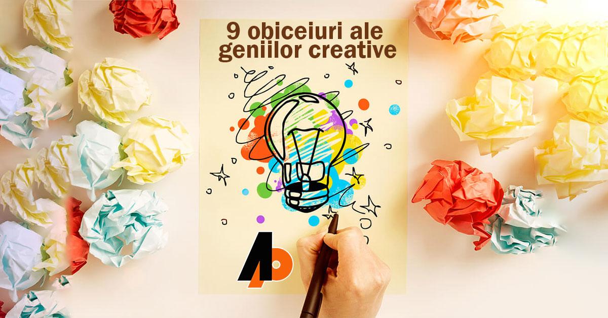 9 obiceiuri ale geniilor creative