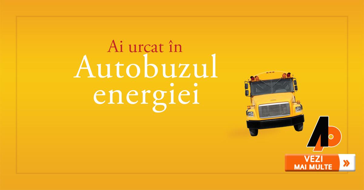 Ai urcat în Autobuzul energiei?