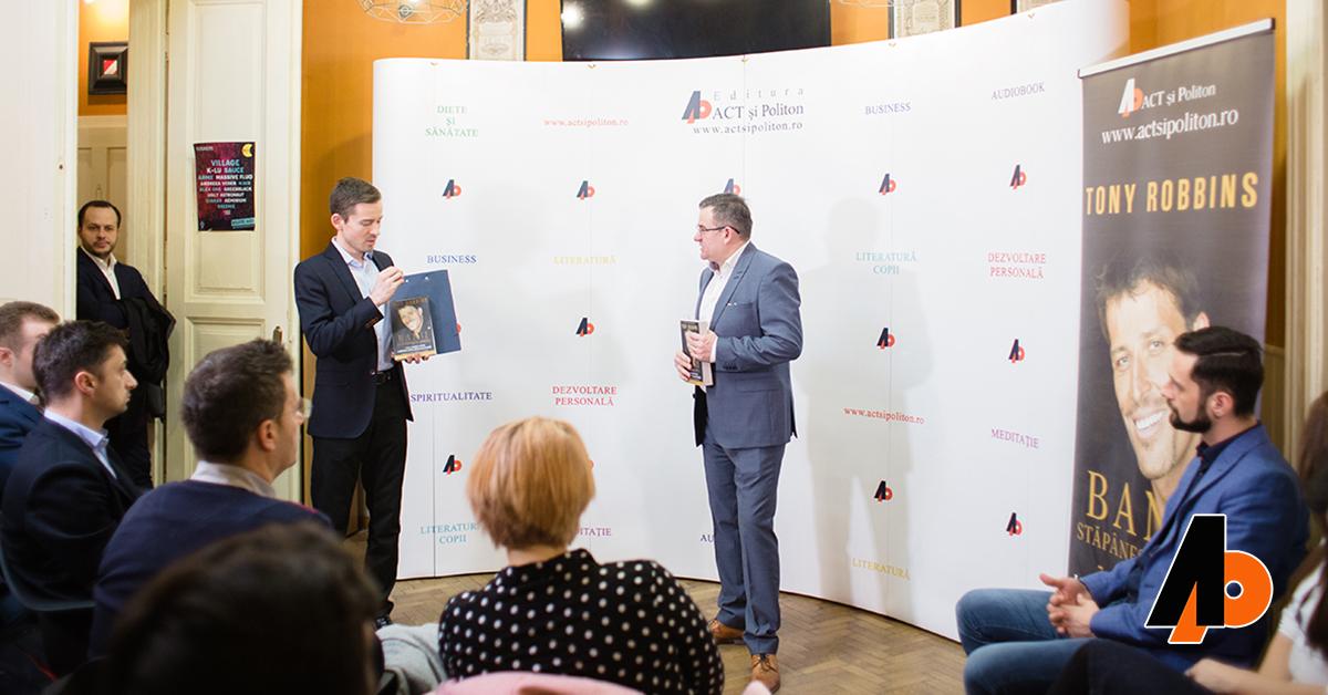 """Evenimentul de lansare a cărții """"Banii: Stăpânește jocul"""", de Tony Robbins"""