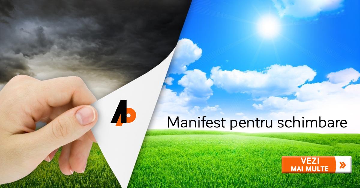 Manifest pentru schimbare