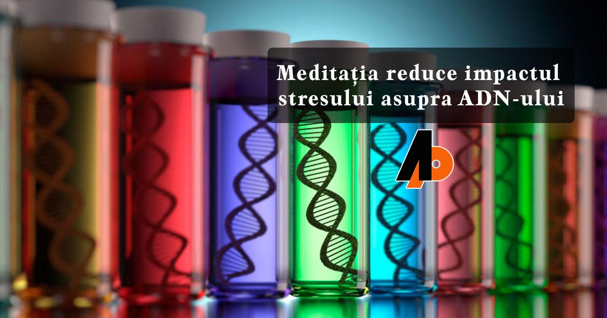 Meditația reduce impactul stresului asupra ADN-ului