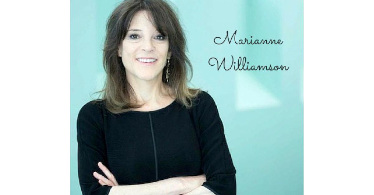 Viaţa şi filosofia lui Marianne Williamson. Dragostea este ceva cu care ne naștem. Frica o învățam după aceea