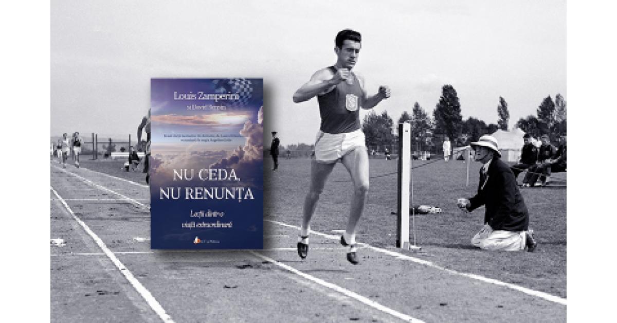 """Bestsellerul american """"Nu ceda, nu renunța"""", în limba română la Editura ACT și Politon"""