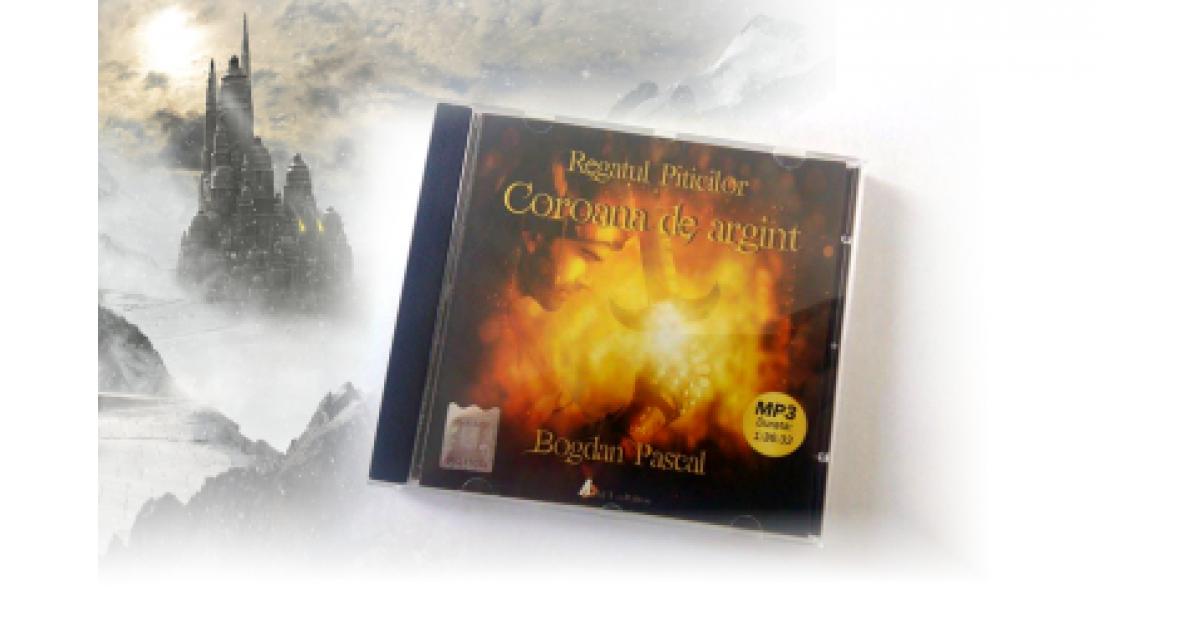 """""""Regatul Piticilor - Coroana de argint"""", o poveste audio fantasy pentru copii"""