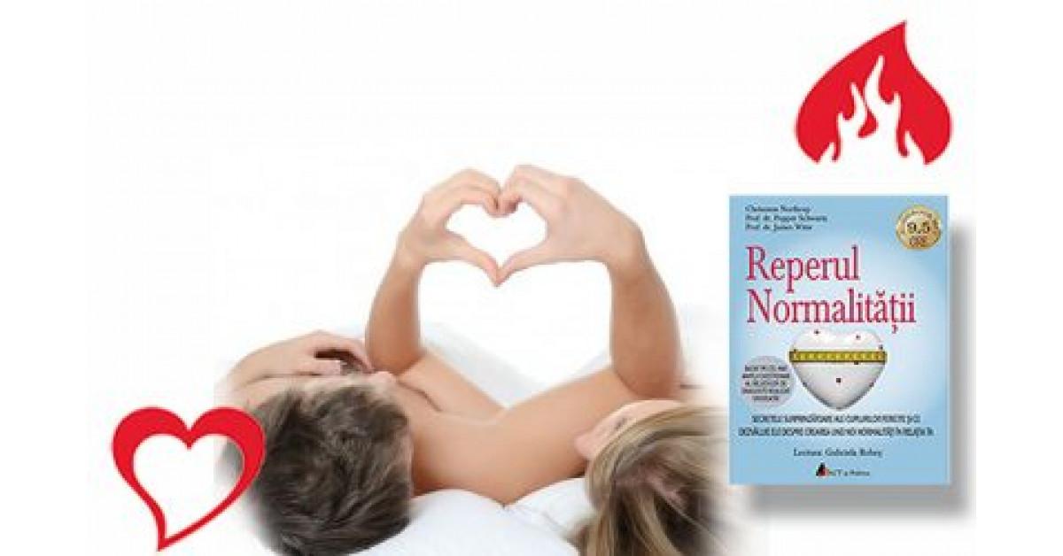 """""""Reperul normalității"""". Secretele surprinzătoare ale cuplurilor fericite şi ce dezvăluie ele despre crearea unei noi normalităţi în relaţia dumneavoastră, de Chrisanna Northrup"""