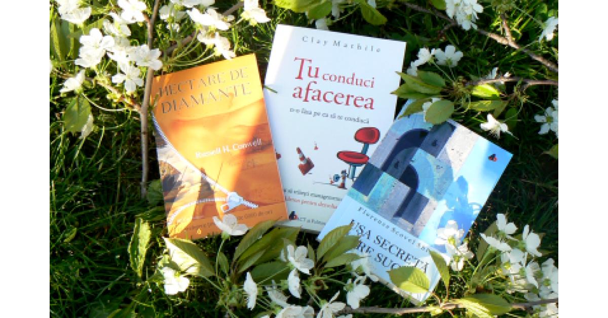 Trei cărți utile pentru Biblioterapie