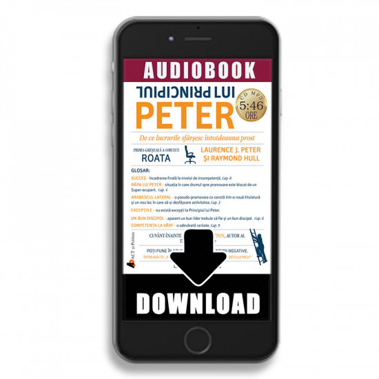 Principiul lui Peter; Laurence J. Peter -ad
