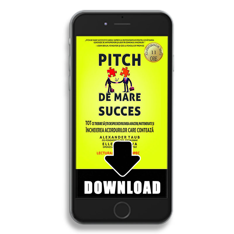 Pitch de mare succes; Alex Taub; Ellen DaSilva; carte audio varianta download