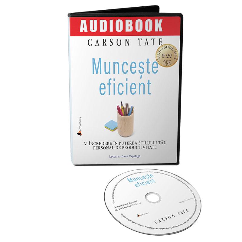 Audiobook îmbunătățirea viziunii