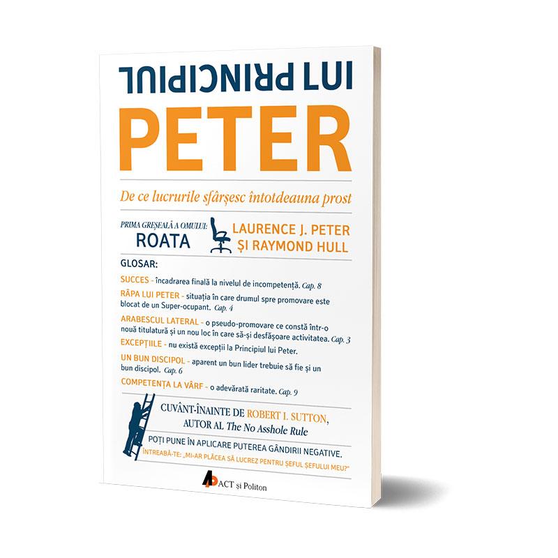Principiul lui Peter; Laurence J. Peter