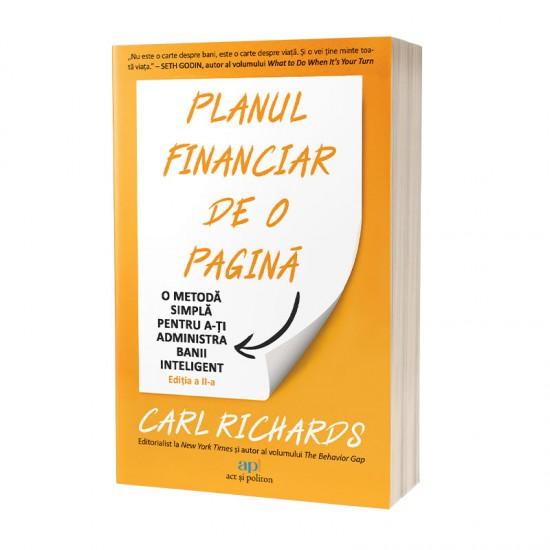 Planul financiar de o pagină: O metodă simplă de a-ți administra banii inteligent
