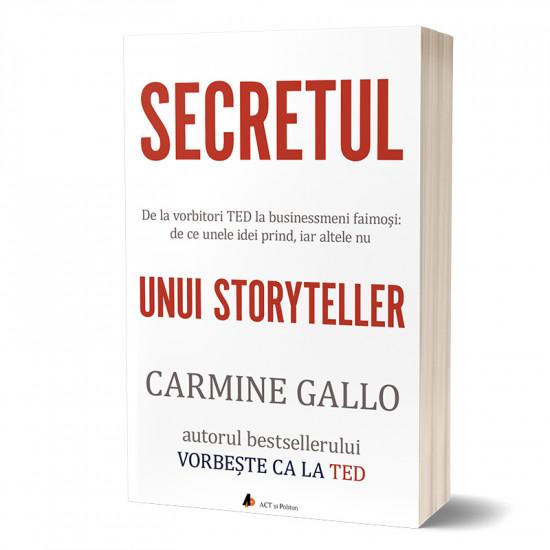 Secretul unui storyteller. De la vorbitori TED la businessmeni faimoși: de ce unele idei prind, iar altele nu