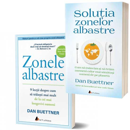 Pachet promoțional sănătate: Zonele Albastre și Soluția Zonelor Albastre