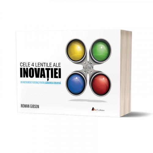 Cele 4 lentile ale INOVAȚIEI: Un instrument puternic pentru gândirea creativă