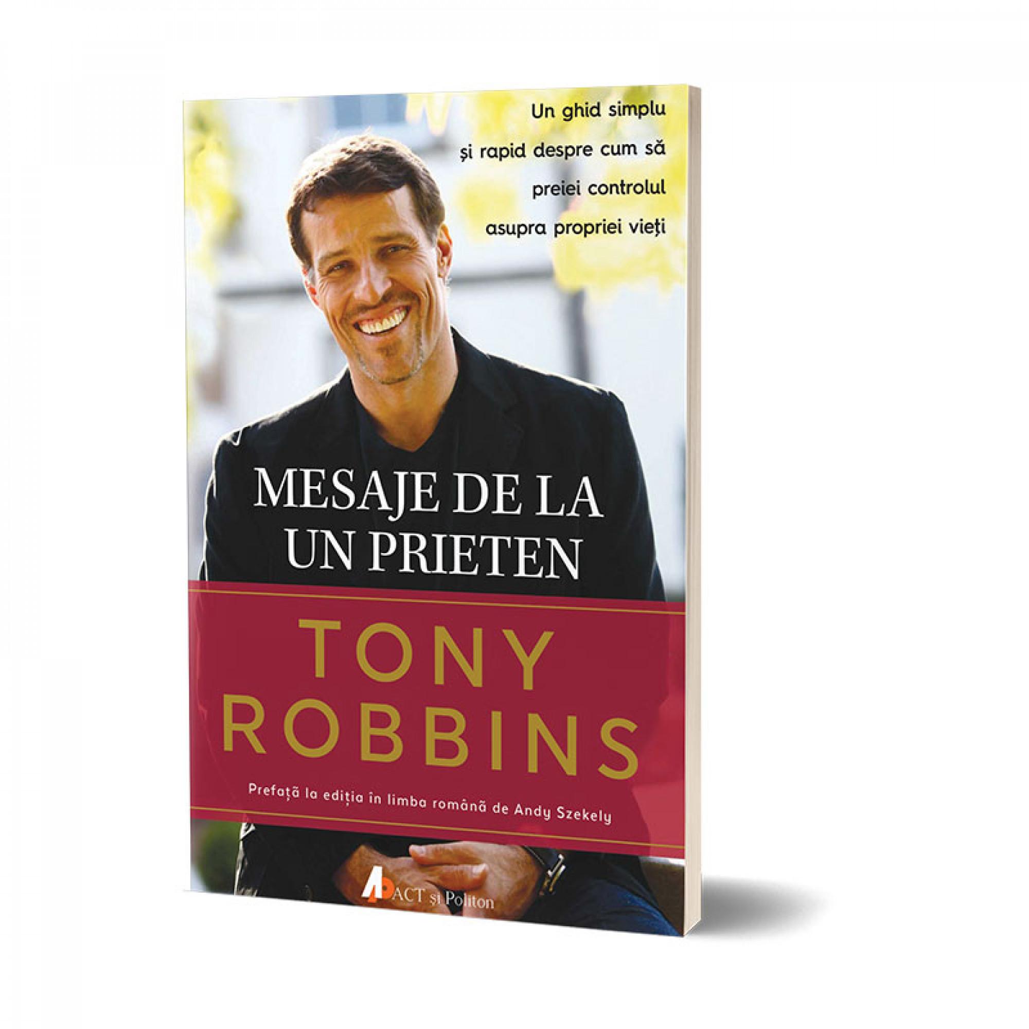Mesaje de la un prieten; Tony Robbins