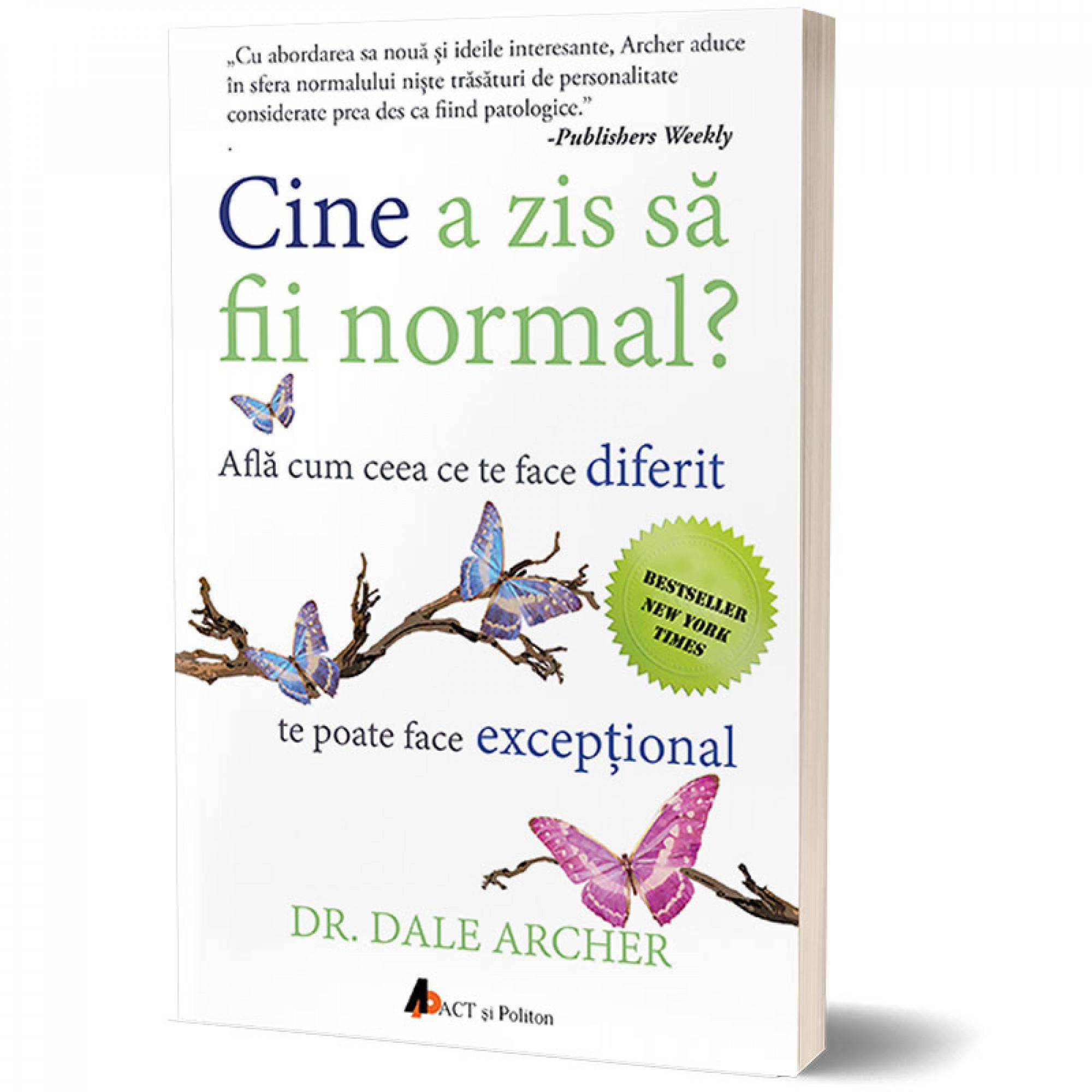 Cine a zis să fii normal?  Află cum ceea ce te face diferit te poate face excepţional