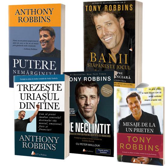 Pachet cărți Tony Robbins