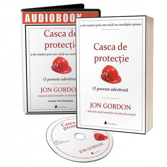 Pachet carte tiparita si audiobook - CASCA DE PROTECȚIE