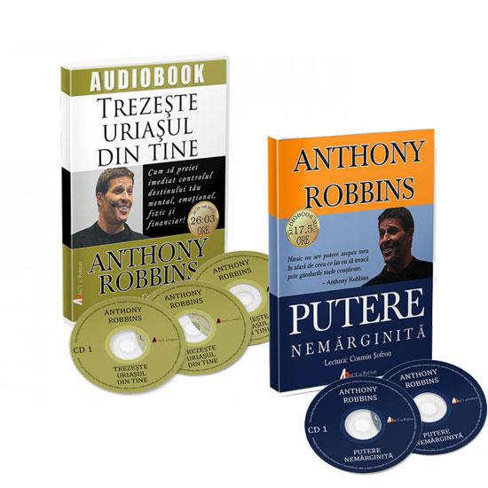 Pachet audiobookuri Tony Robbins