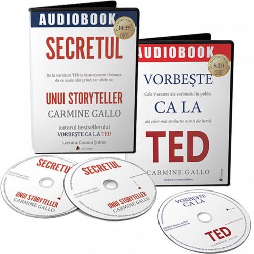 Pachet audiobookuri Carmine Gallo