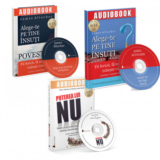 Pachet audiobookuri James Altucher