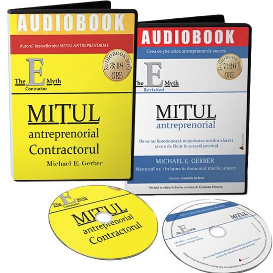 Pachet audiobookuri: Mitul antreprenorial și Mitul antreprenorial – contractorul