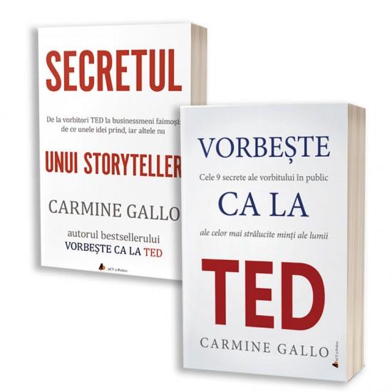 Pachet cărți Carmine Gallo