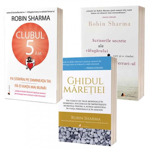 Pachet cărți Robin Sharma