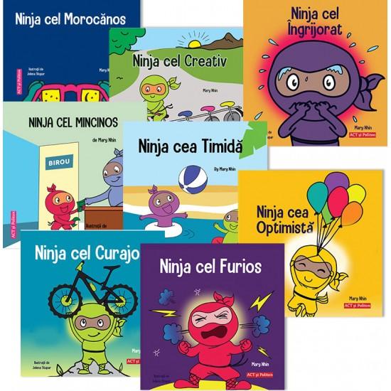 Pachet cărți Trucuri Ninja