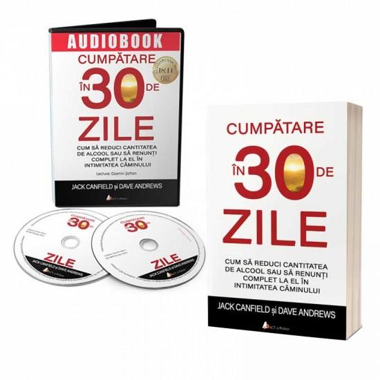 Super ofertă: Pachet carte și audiobook Cumpătare în 30 de zile