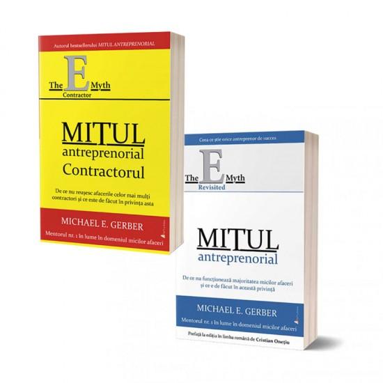 Pachet cărți Mitul antreprenorial și Mitul antreprenorial – contractorul