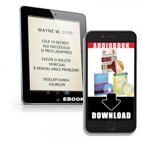 Pachet Wayne Dyer - ebook-uri și mp3download-uri