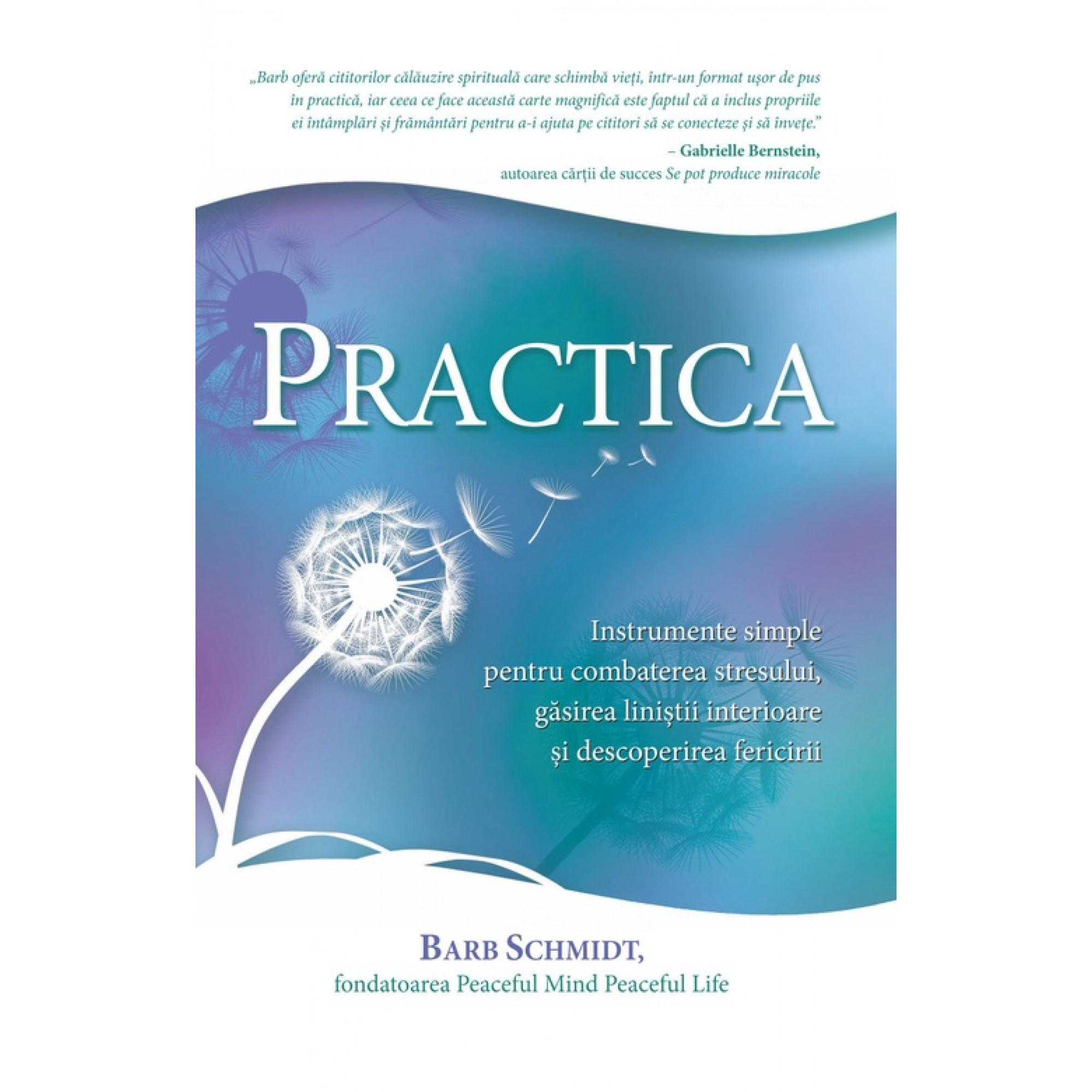 Practica. Instrumente simple pentru combaterea stresului, găsirea liniștii interioare și descoperirea fericirii