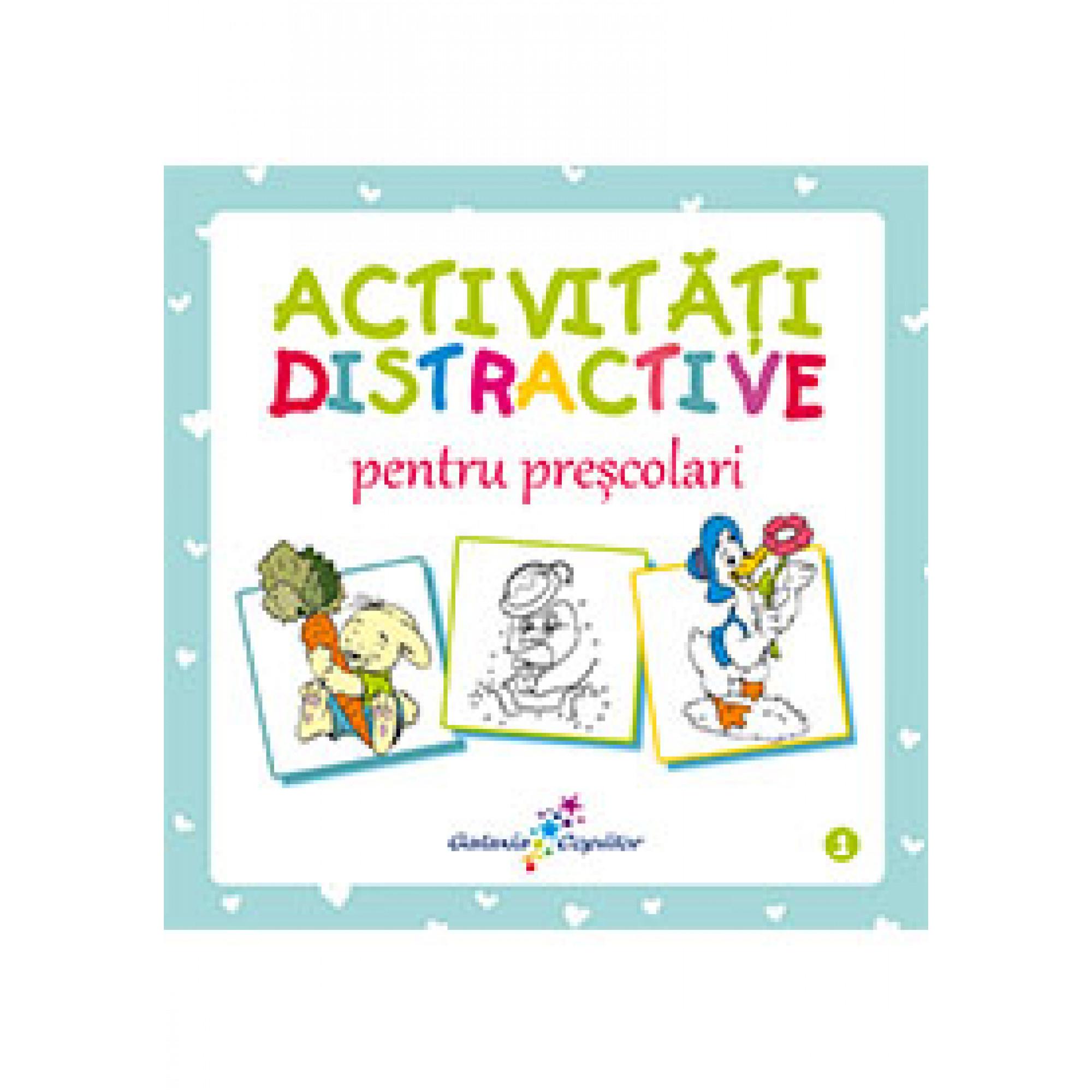 Activități distractive pentru preșcolari; Roxana Geantă