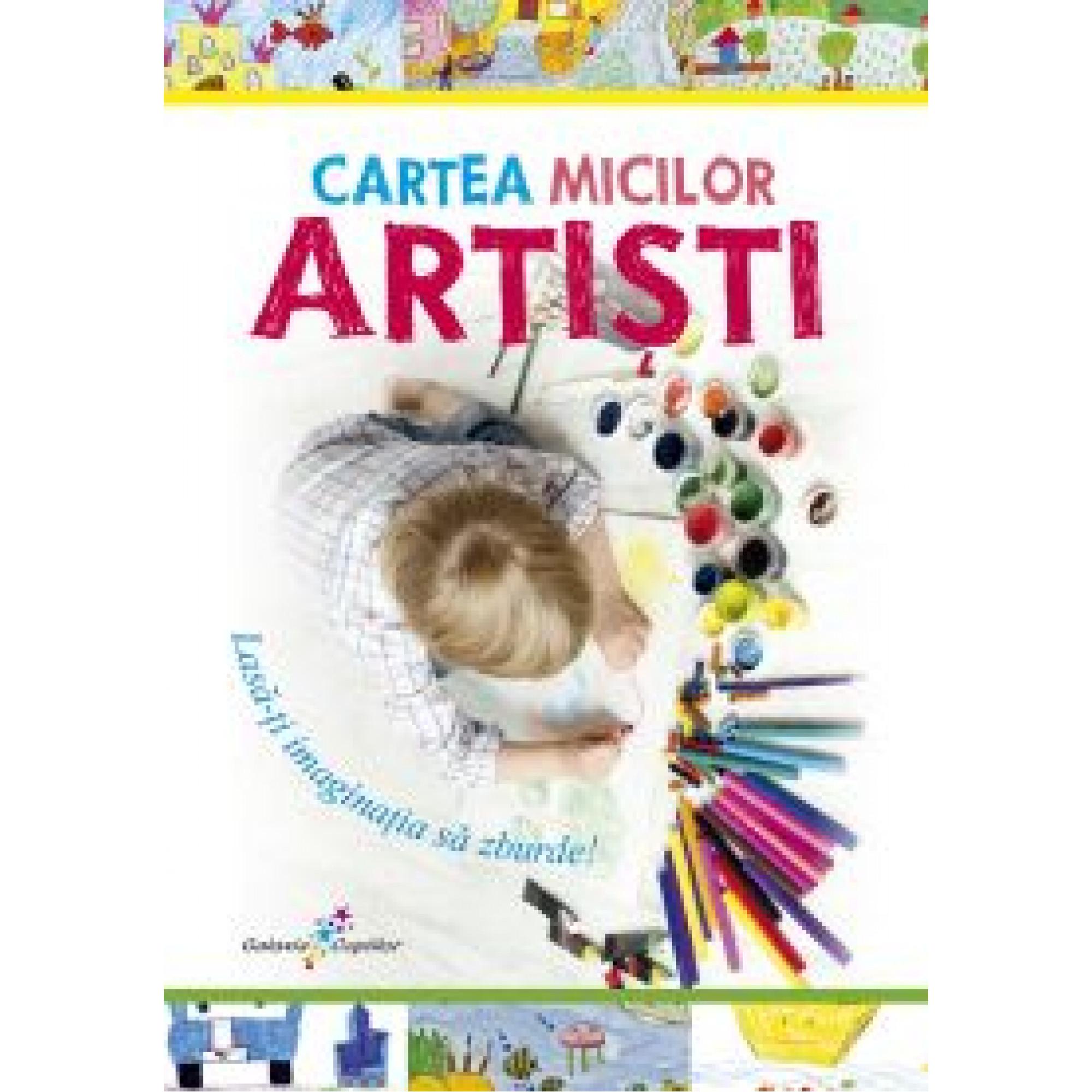 Cartea micilor artiști; Roxana Geantă