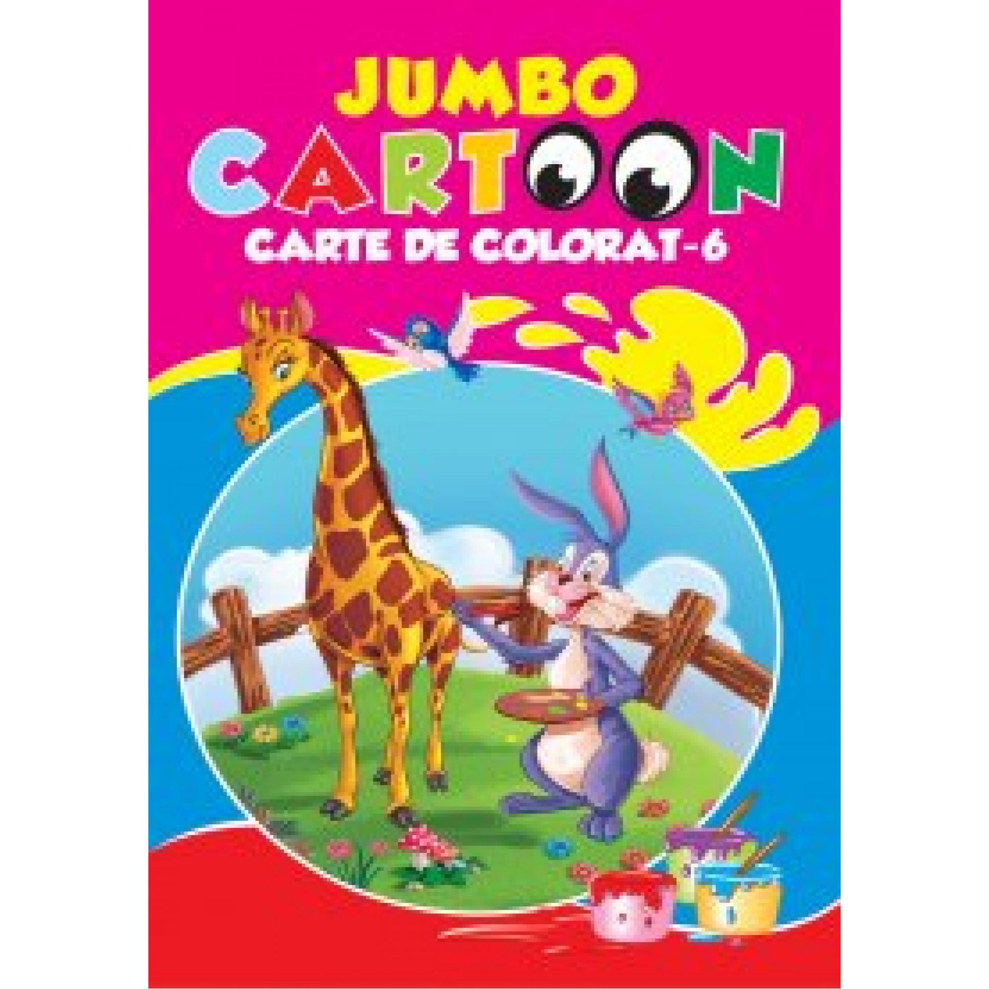 Jumbo cartoon. Carte de colorat 6