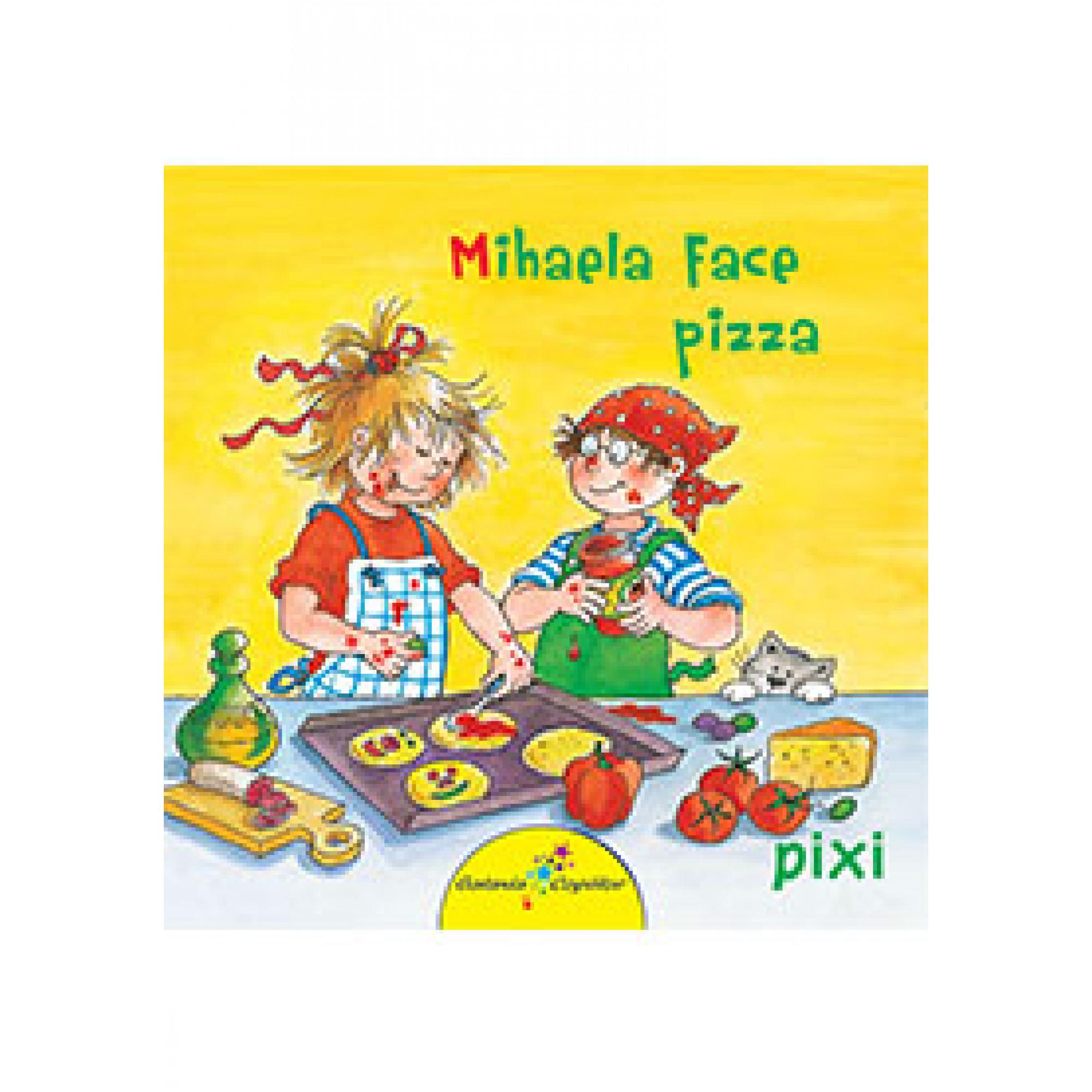 Mihaela face pizza; Liane Schneider