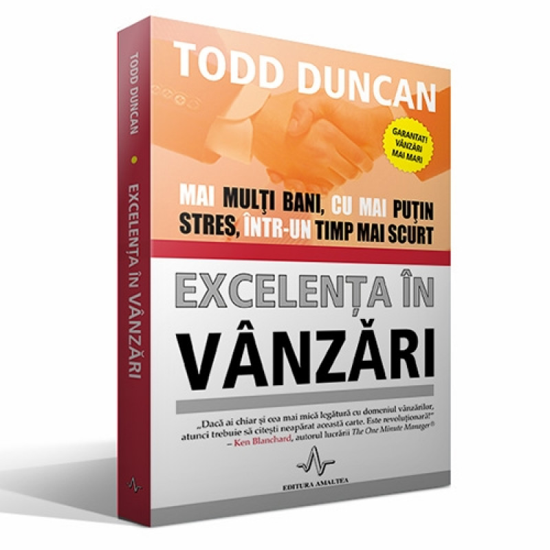 Excelența în vânzări; Todd Duncan