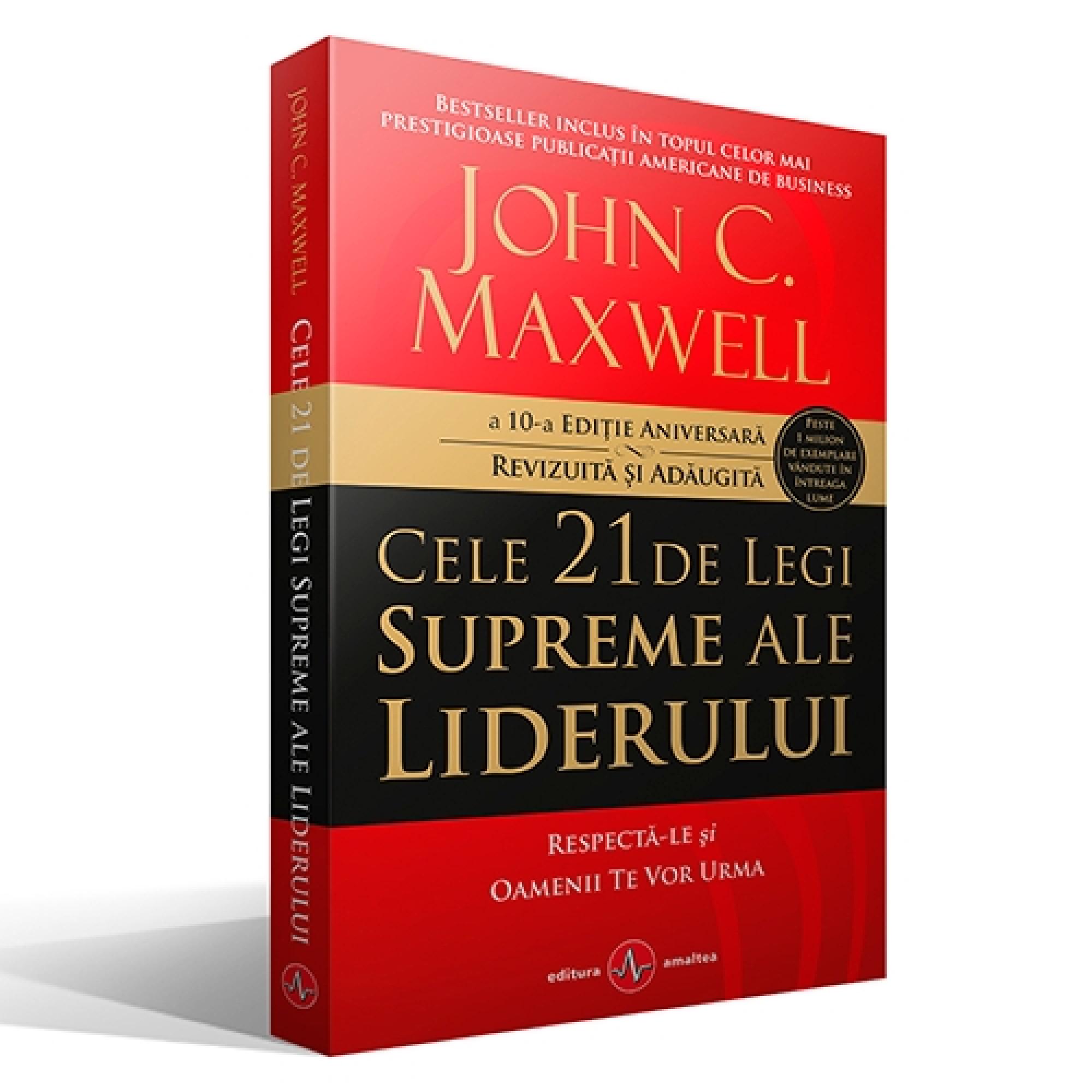 Cele 21 de legi supreme ale liderului. A 10-a ediție aniversară, revizuită și adăugită