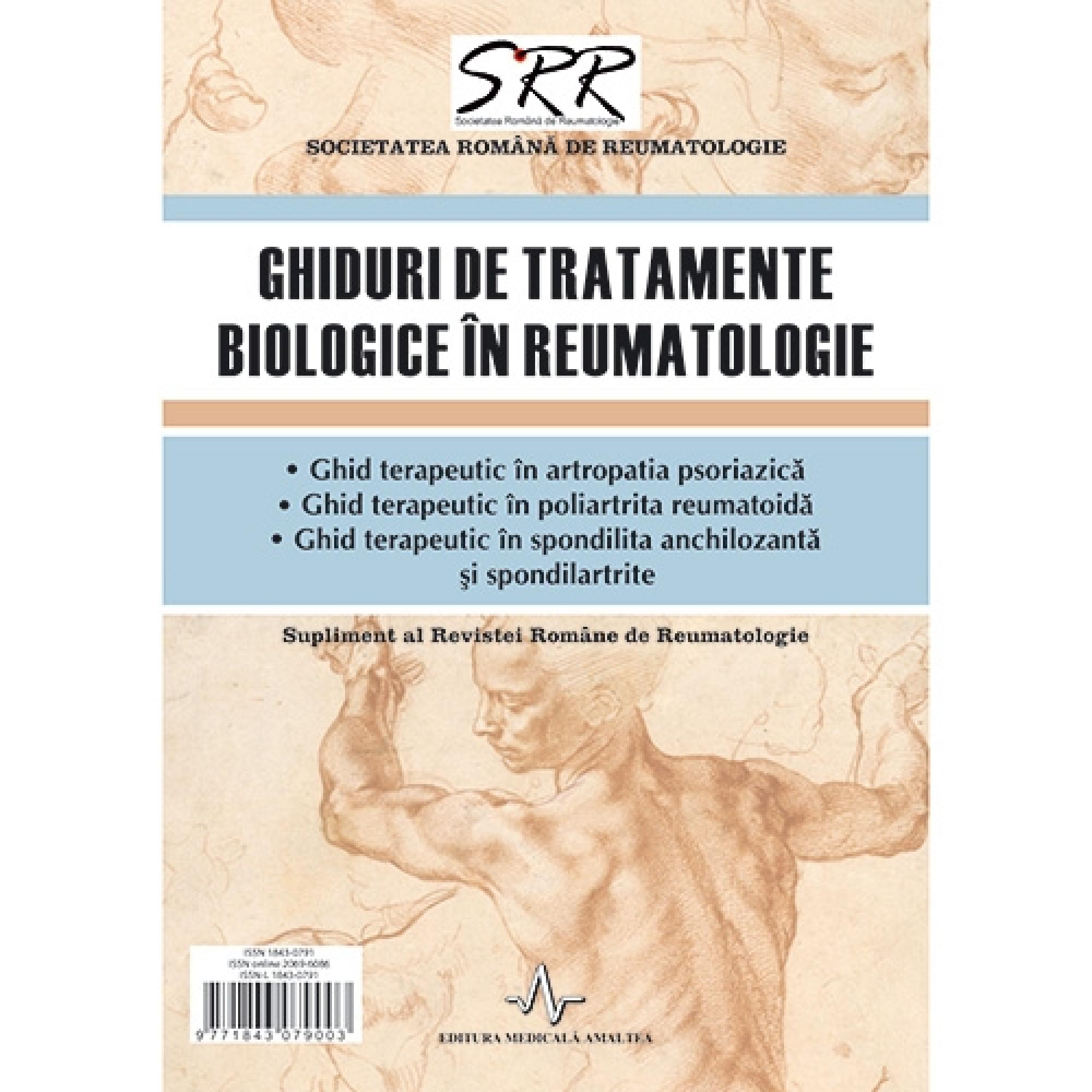 Ghiduri de tratamente biologice în reumatologie