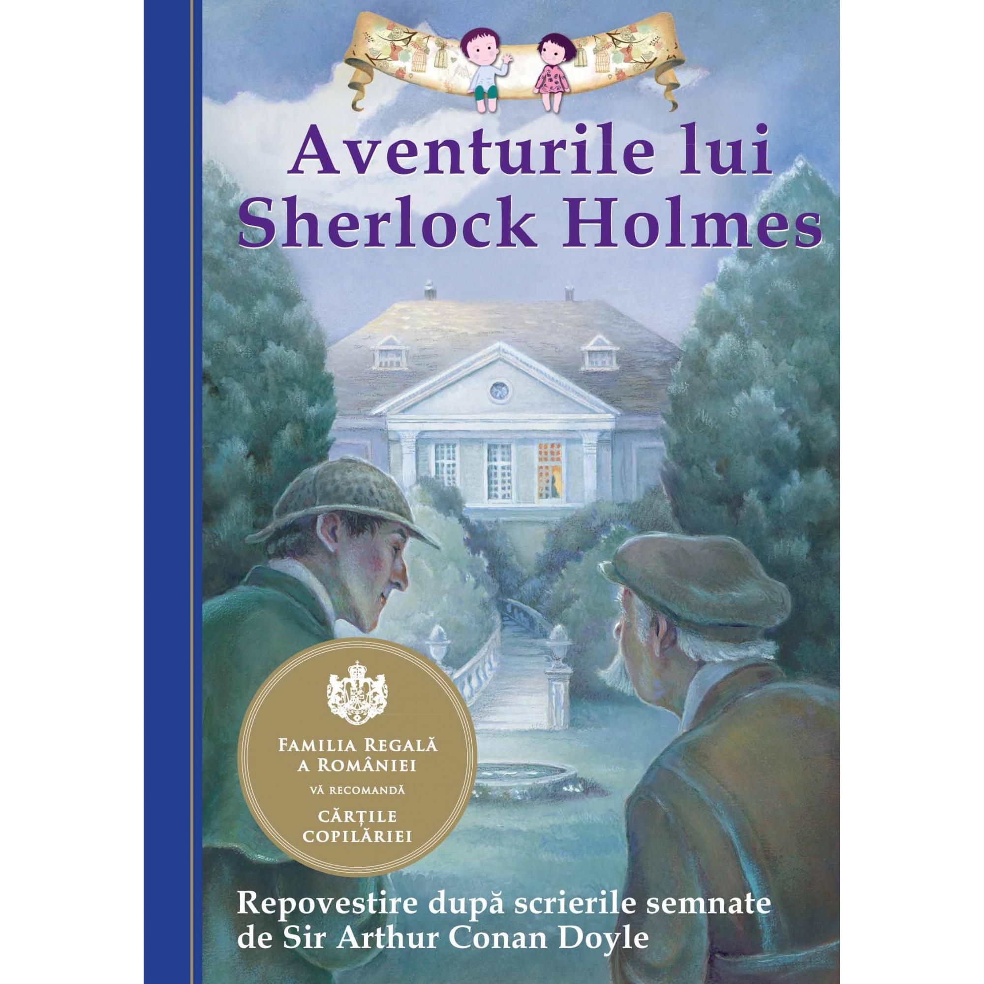 Aventurile lui Sherlock Holmes. Repovestire după scrierile semnate de Sir Arthur Conan Doyle. Ediția a II-a; Chris Sasaki