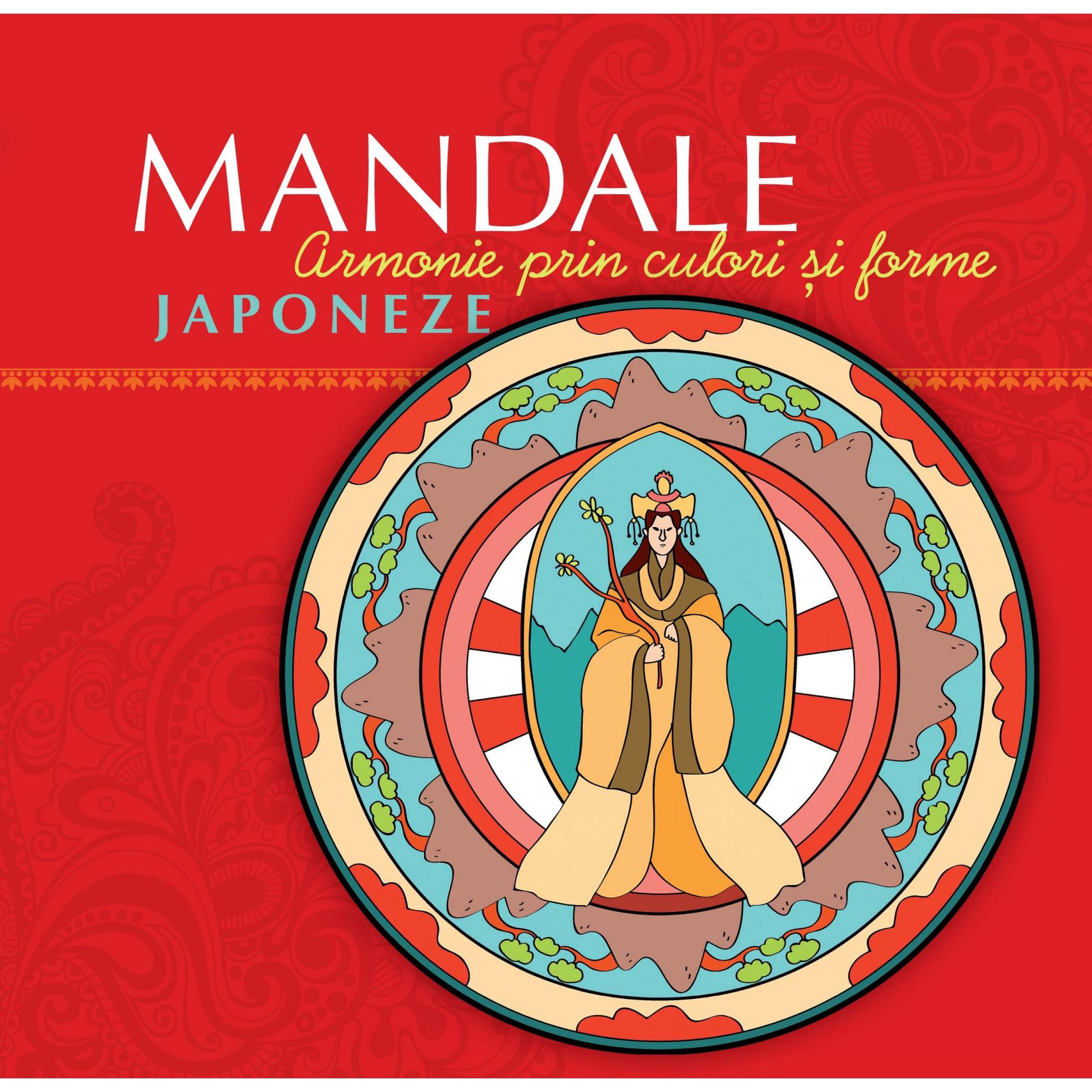 Mandale japoneze. Armonie prin culori și forme