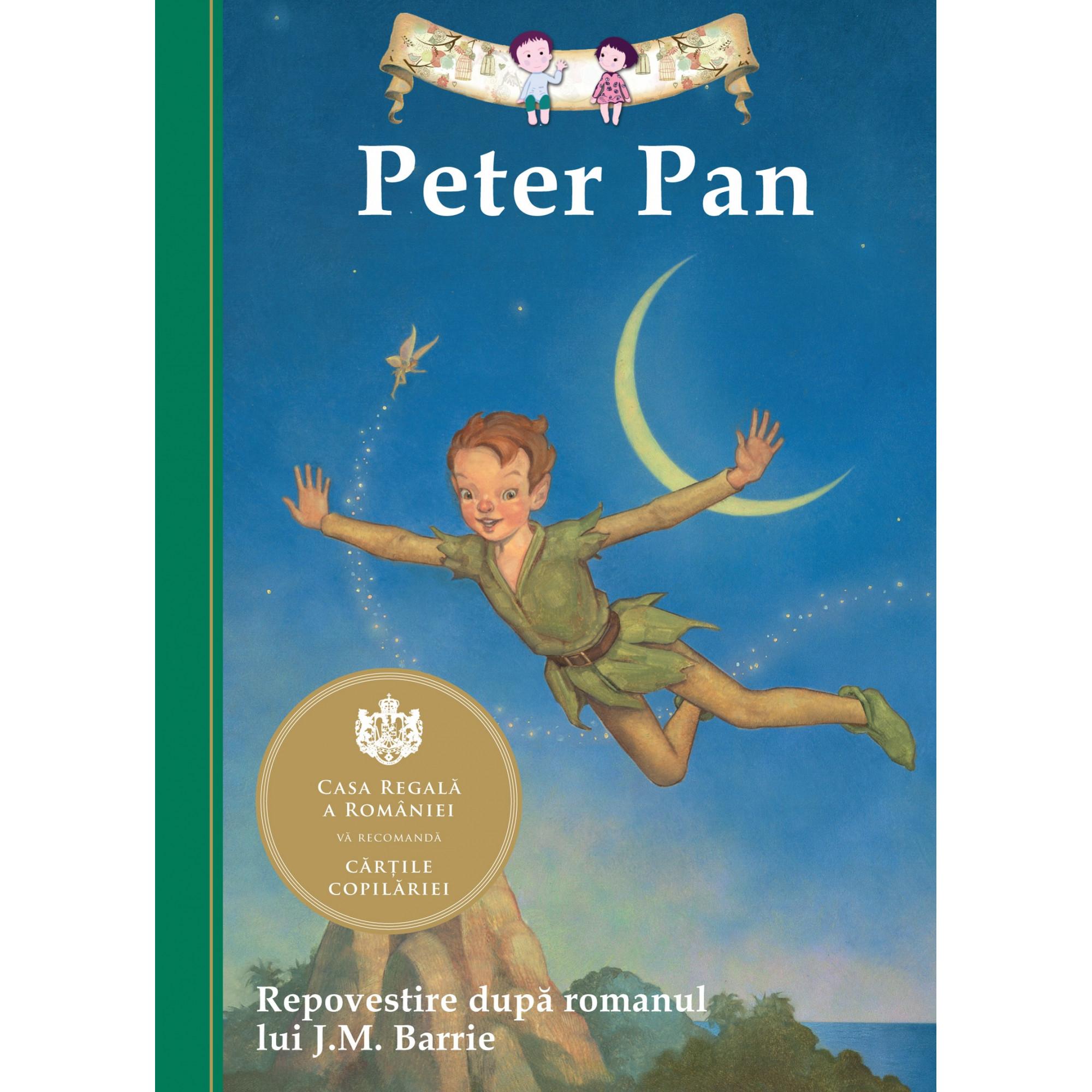 Peter Pan. Repovestire după romanul lui J.M.Barrie