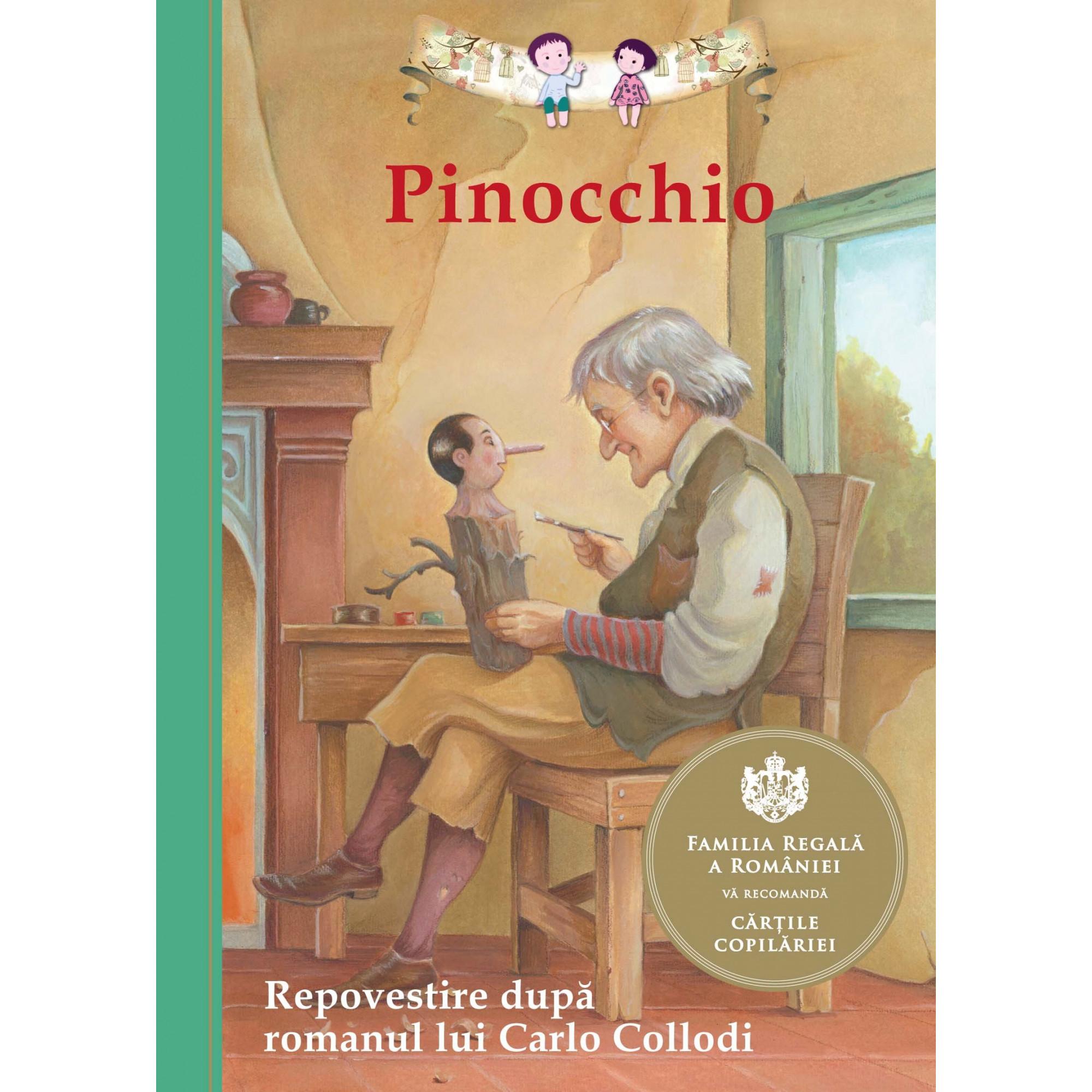 Pinocchio. Repovestire după romanul lui Carlo Collodi; Tania Zamorsky