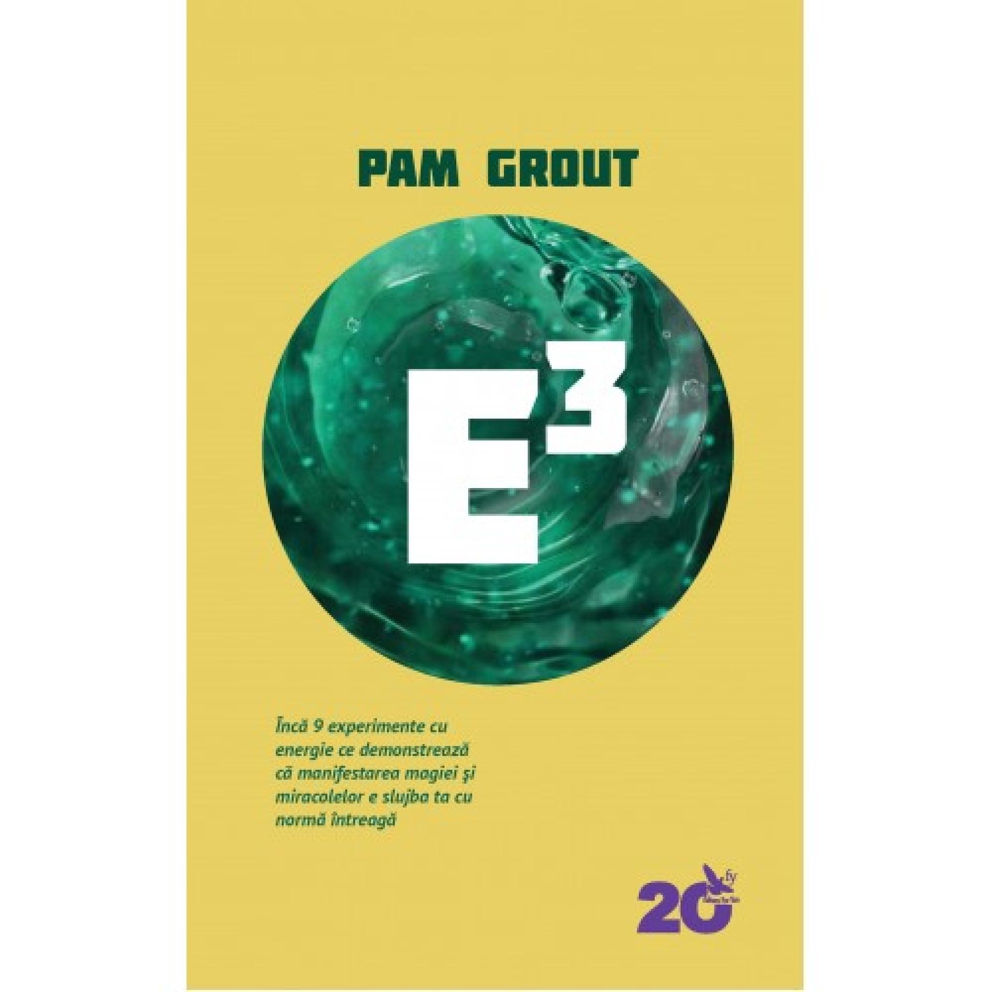 E3. Încă 9 experimente cu energie ce demonstrează că manifestarea magiei și miracolelor e slujba ta cu normă întreagă; Pam Grout